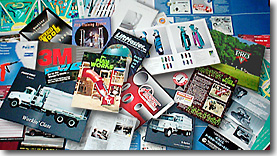 Pocket folders, catalogs, brochures, mailers, sell-sheets ...